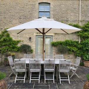 Bambrella Levante Rectangle patio Umbrella