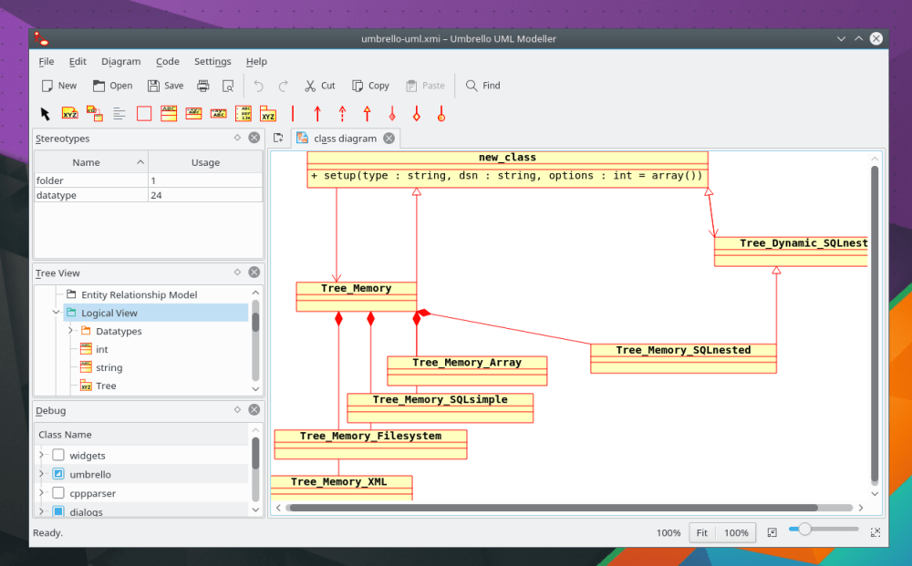 medium resolution of umbrello uml modeller is a unified modelling language uml diagram program based on kde technology