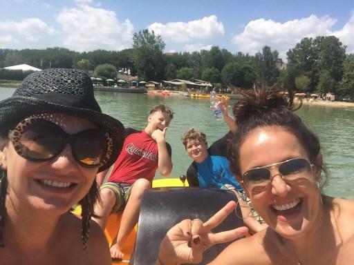 Fun on Lake Trasimeno