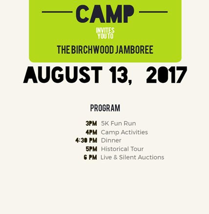 Birchwood Camp's Jamboree