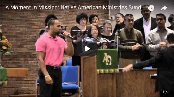 Native American Ministries Sunday – April 15th