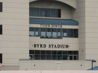 Tyser Tower at Byrd Stadium