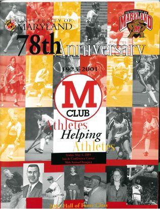 M Club Banquet Program 2003