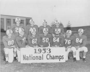 1953 National Champions