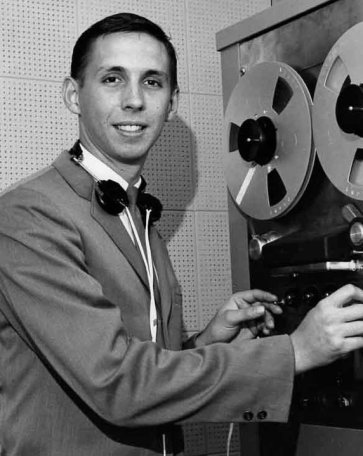 Alan Batten, the WMUC reporter who broke the news of JFK's death on air.
