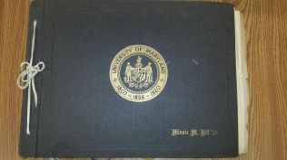 The cover of Minnie's scrapbook