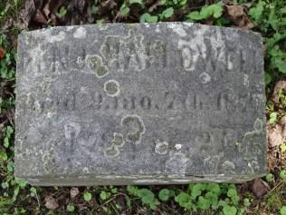 Benjamin Hallowell's gravestone