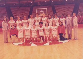 women's basketball team, c. 1078