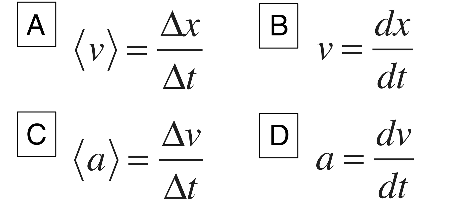 Kinematic Equations Physics Examples