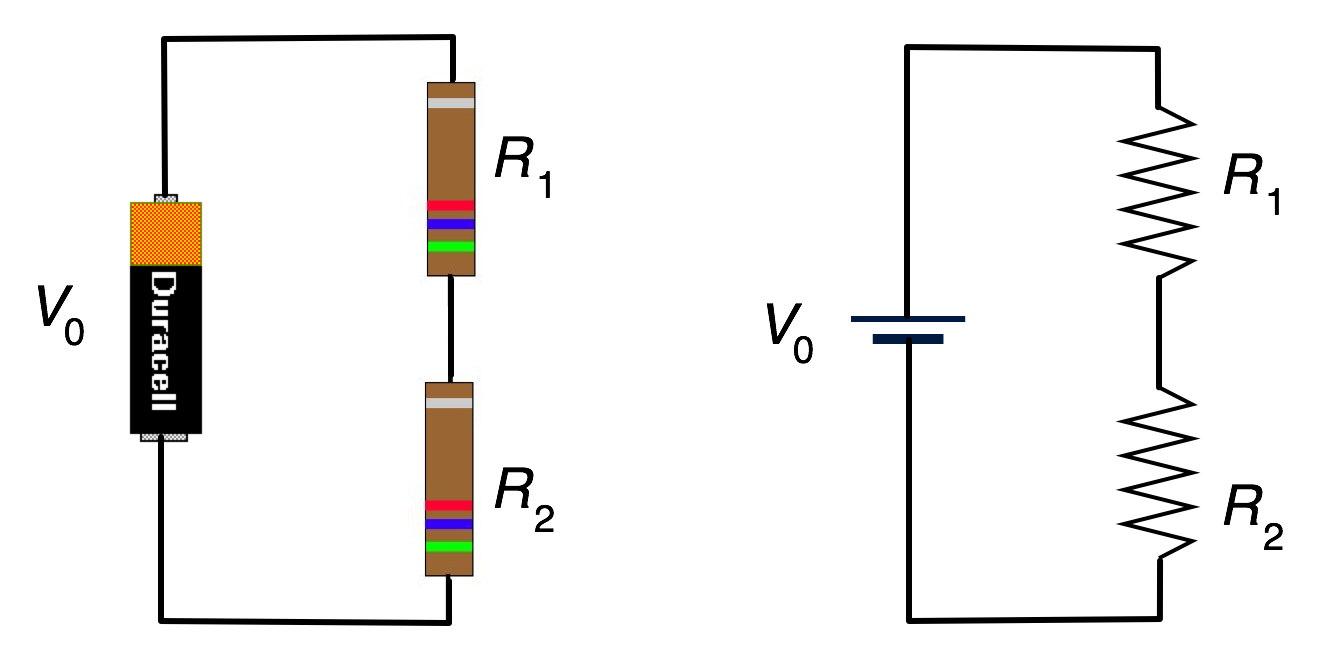Circuit Diagram Resistors In Series
