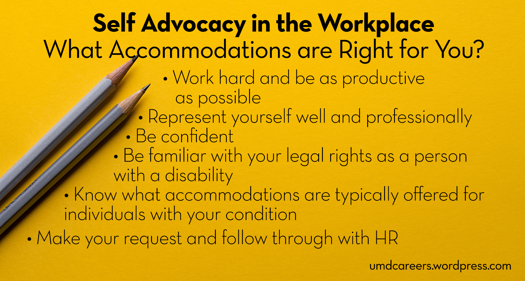SelfAdvocacy in the Workplace  Peer Into Your Career