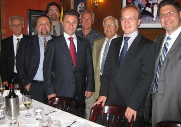 Macedonian PM Visits Ottawa, Toronto; Private Luncheon with John Bitove, UMD Canada, Macedonia 2025