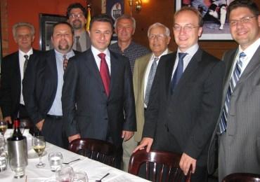 Macedonian PM Visits Ottawa, Toronto; Private Luncheon with John Bitove, UMD Canada, Macedonia 2025