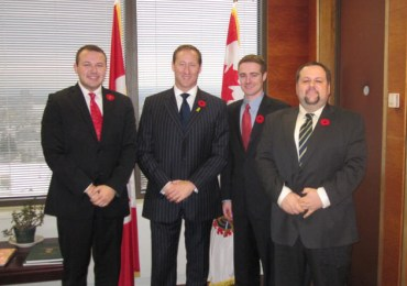UMD Meets Canadian National Defence Minister Peter MacKay