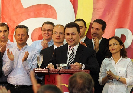 UMD Congratulates Macedonian Prime Minister Gruevski and First Diaspora MPs