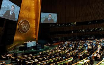 UMD Salutes Gruevski's Speech to 66th United Nations General Assembly