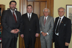 UMD Meets with Canadian Foreign Minister and Parliamentarians