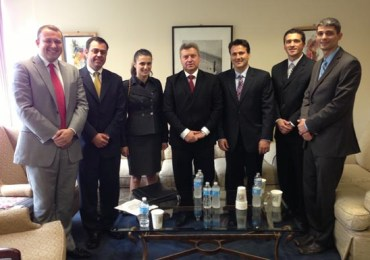 UMD Meets with Macedonian President Ivanov at United Nations