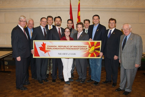 UMD Celebrates Re-establishment of Canada-Macedonia Parliamentary Friendship Group