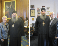 Metropolitan Metodi Meets with Congresswoman Miller and Congressman Pascrell