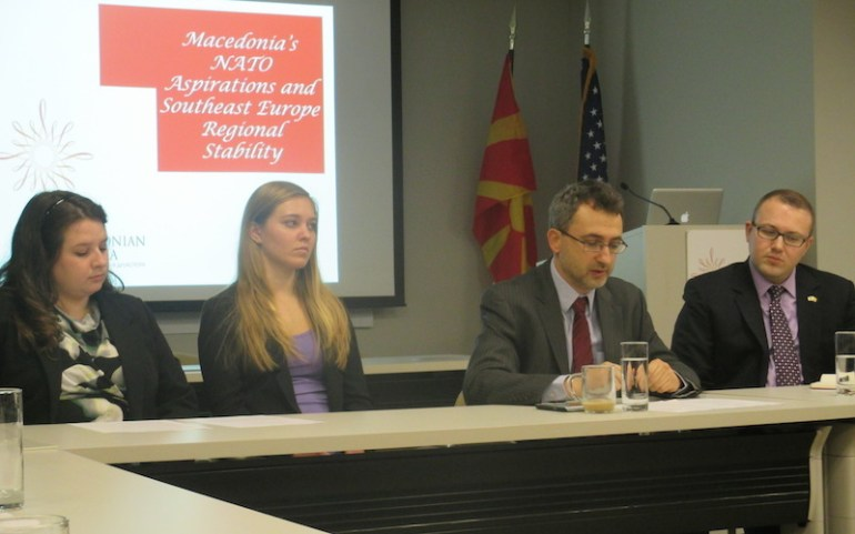 MP Petrov on Macedonia's NATO Aspirations