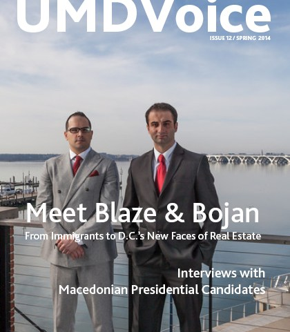 JUST PUBLISHED: UMD Voice Magazine Spring 2014 Issue