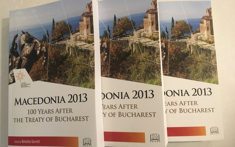 """NEW UMD PUBLICATION: """"Macedonia 2013: 100 Years After the Treaty of Bucharest"""""""