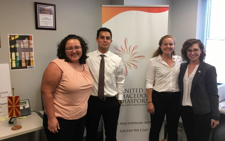 APPLY NOW: Intern and Help Macedonia in Washington, D.C.