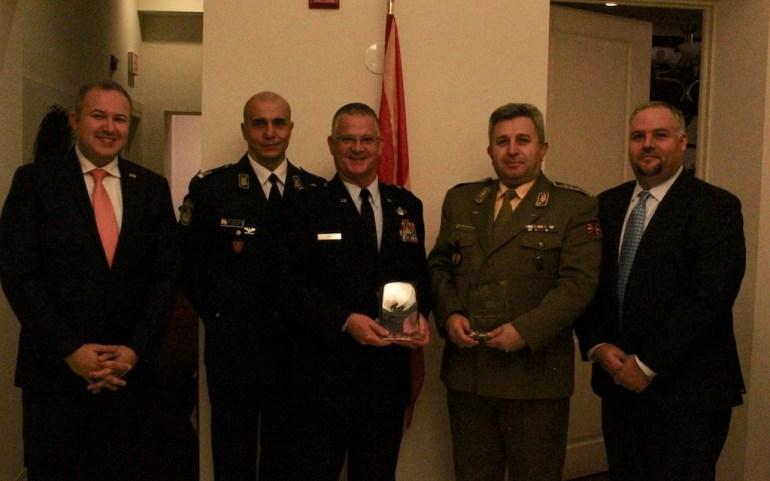 UMD Honors Macedonia and Vermont Generals