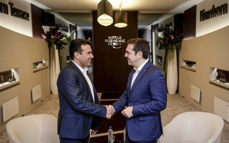Zaev Bows to Pressure from Athens to Re-name Airport and Highway, Refuses to Mention His Own Country's Name