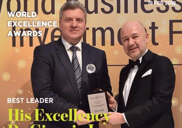 Изјава на ОМД по повод доделената награда на Претседателот Иванов