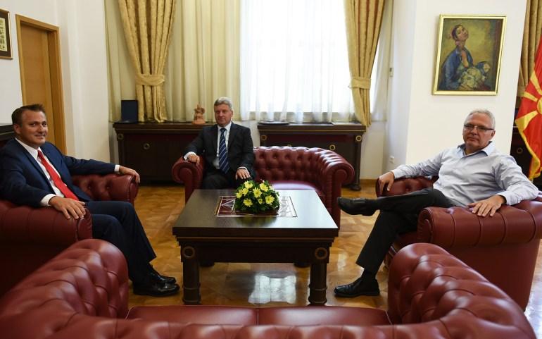 Средба на претставници на ОМД со Претседателот Иванов