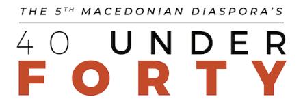 UMD Announces 3rd 10 Winners of the 5th Annual Macedonian Diaspora's 40 Under 40 List