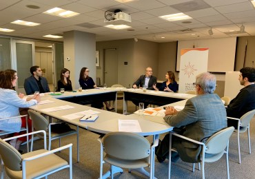 UMD Hosts Macedonia Economic Climate and Outlook Roundtable Discussion
