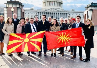UMD: MAKtivists Conduct Macedonian Advocacy Day in Congress