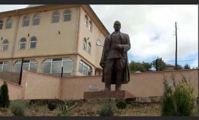 Statue to Nazi collaborator Xhem Hasa