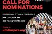 Call for Nominations: 6th Annual UMD Macedonian Diaspora 40 Under 40 Awards