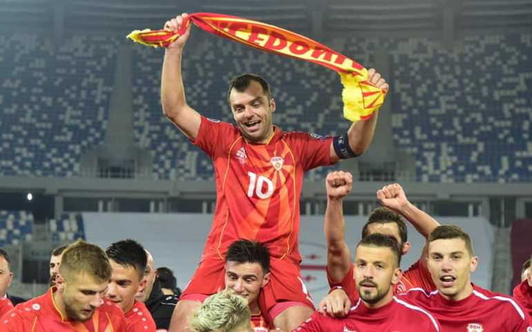 Macedonian Soccer Team Make History by Advancing to the European Championships