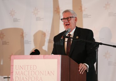 UMD: Congressman Paul Mitchell Stood by Macedonia When Others Hesitated
