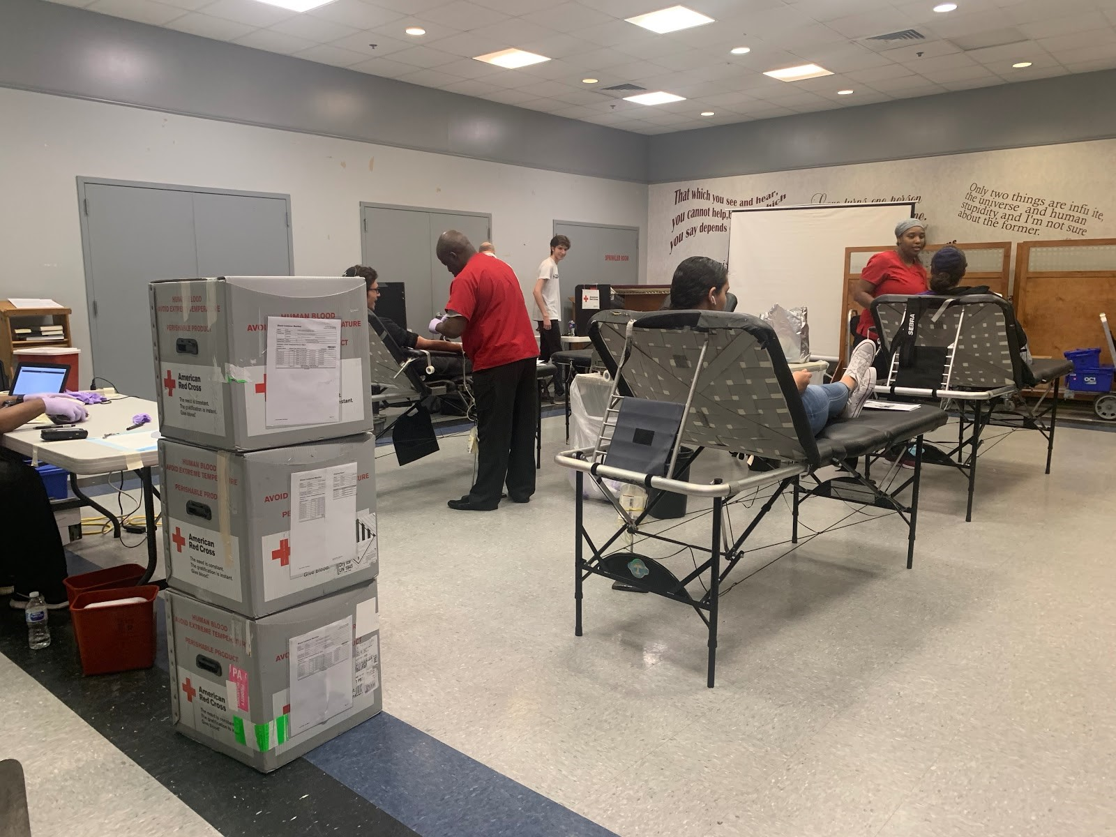 Mitzpeh | Hillel hosts Red Cross blood drive to give back to
