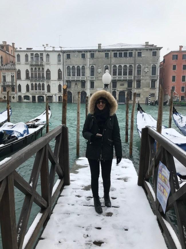 Itália - Veneza nevada- Março 2018