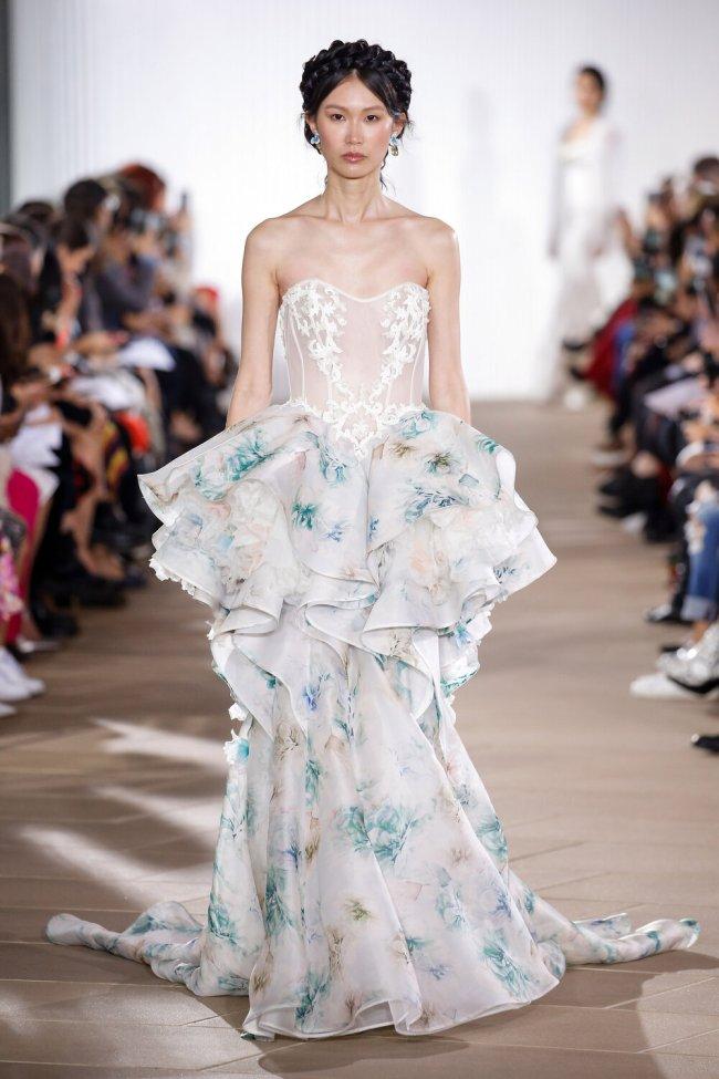 Ines di Santo, Bridal Fall 2020, New York, October 4 2019