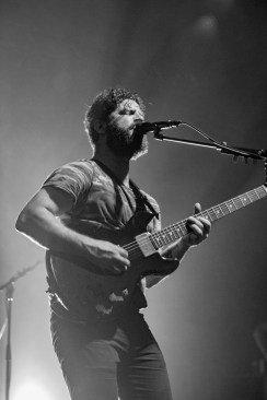 Yannis Philippakis of FOALS performs at Echostage on Thursday, Nov. 3. (Casey Tomchek/Freelance Photographer)