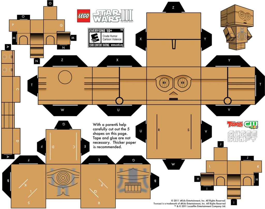 Papercraft Templates Guidance