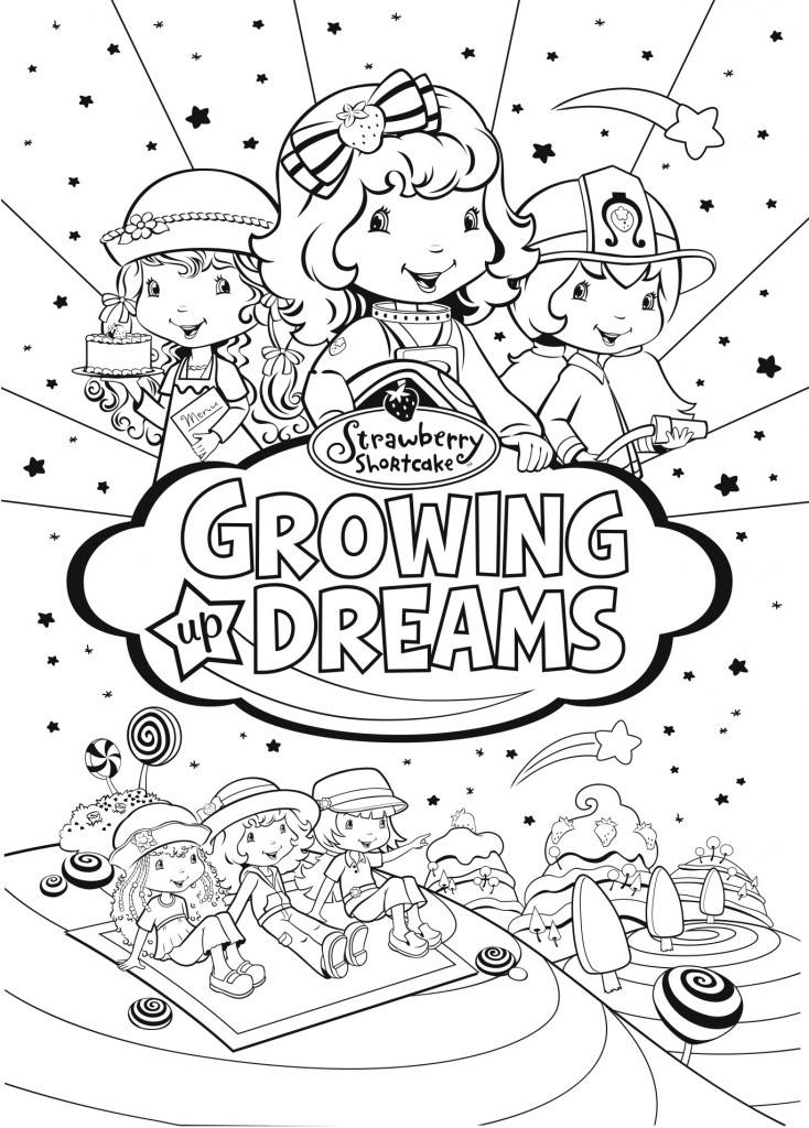 Win One of 5 Copies of STRAWBERRY SHORTCAKE: BRIGHT LIGHTS