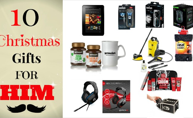 Top 10 Unique Christmas Gifts For Him 2014