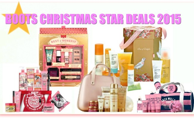 Boots Star Gift Deals Beauty Gifts For Xmas 2015 Updated