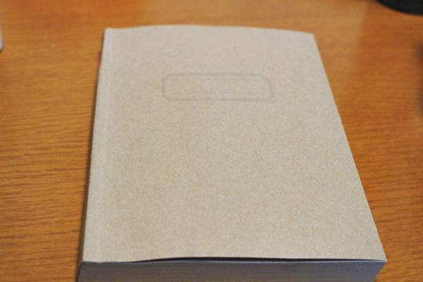 セリア B6フリーノート・368ページ