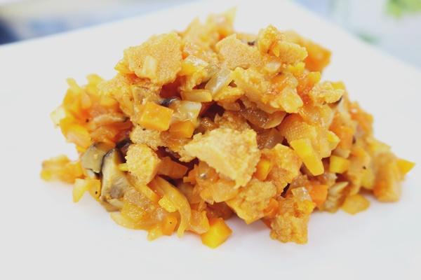 高野豆腐ソース