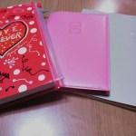 2016年の手帳は3冊(EDiT・VISUALIFE・マンスリークラブオリジナル手帳)